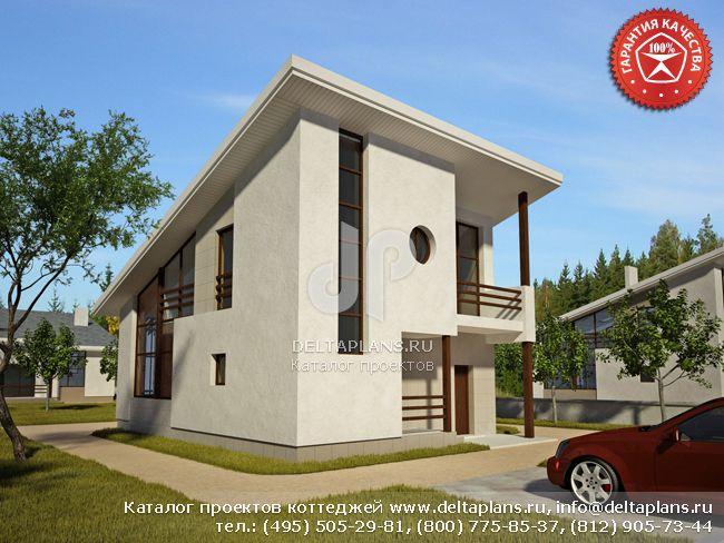 Кирпичный дом. Проект № O-108-1K