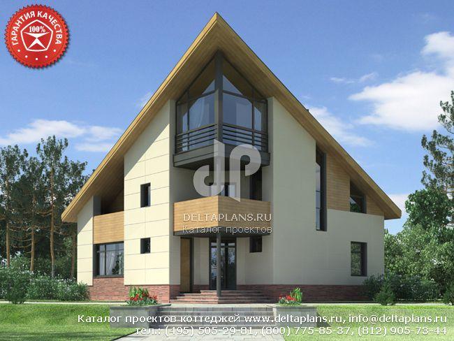 Кирпичный дом. Проект № O-231-1K
