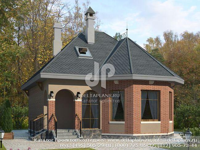 Пенобетонный дом. Проект № P-092-1P