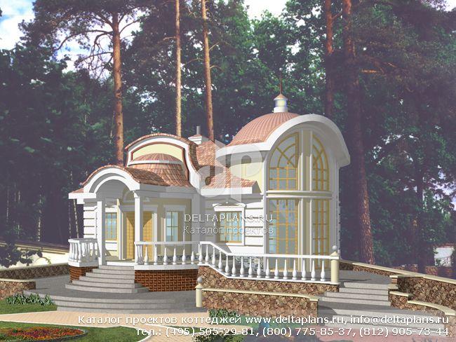 Кирпичный дом. Проект № S-157-1K