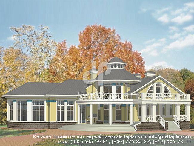 Кирпичный дом. Проект № S-286-1K