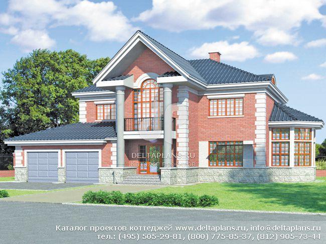 Кирпичный дом. Проект № S-287-1K