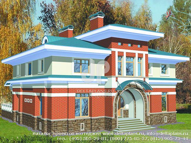 Кирпичный дом. Проект № S-312-1K