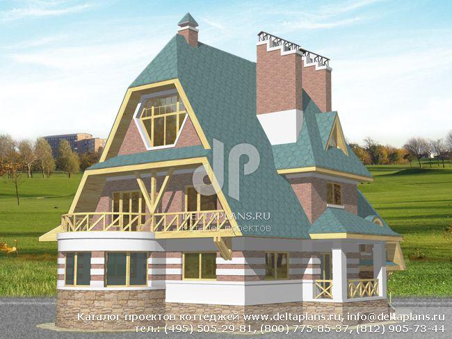 Кирпичный дом. Проект № S-381-1K