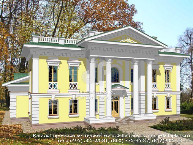 Кирпичный дом. Проект № S-439-1K