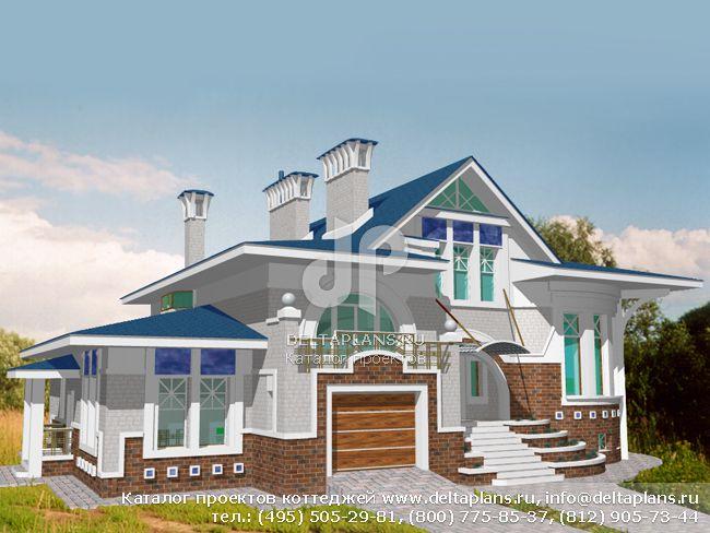 Кирпичный дом. Проект № S-443-1K