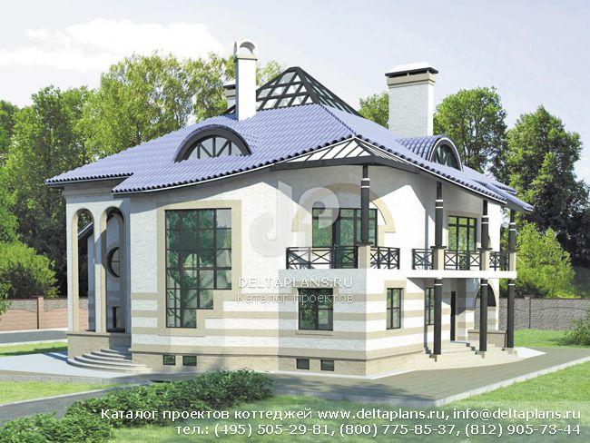 Кирпичный дом. Проект № S-455-1K