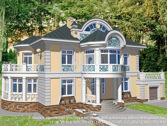 Кирпичный дом. Проект № S-485-1K