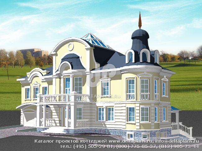 Кирпичный дом. Проект № S-536-1K