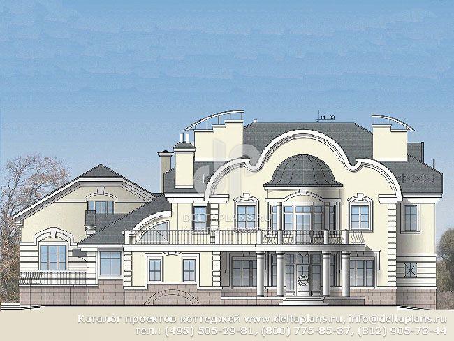 Кирпичный дом. Проект № S-560-1K