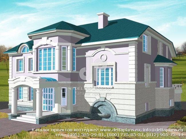 Кирпичный дом. Проект № S-564-1K