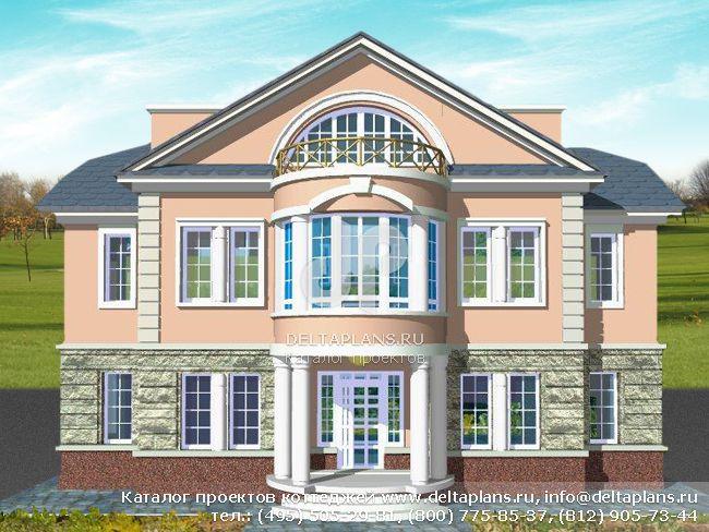 Кирпичный дом. Проект № S-576-1K