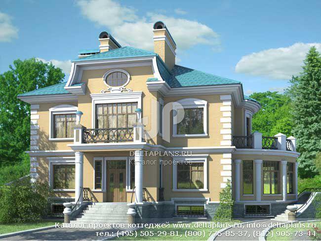 Кирпичный дом. Проект № S-608-1K