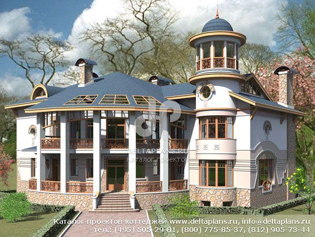 Кирпичный дом. Проект № S-641-1K