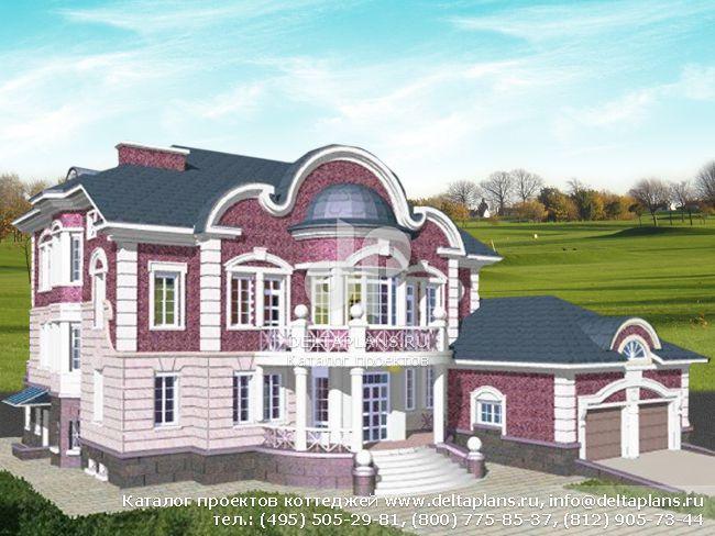 Кирпичный дом. Проект № S-706-1K