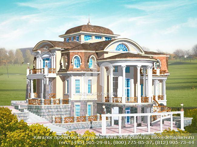 Кирпичный дом. Проект № S-769-1K