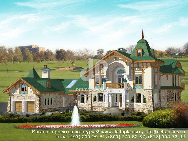 Кирпичный дом. Проект № S-777-1K