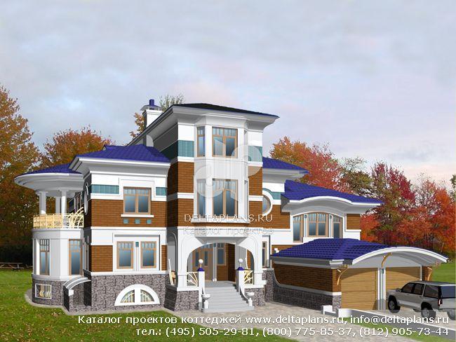 Пенобетонный дом. Проект № S-883-1P