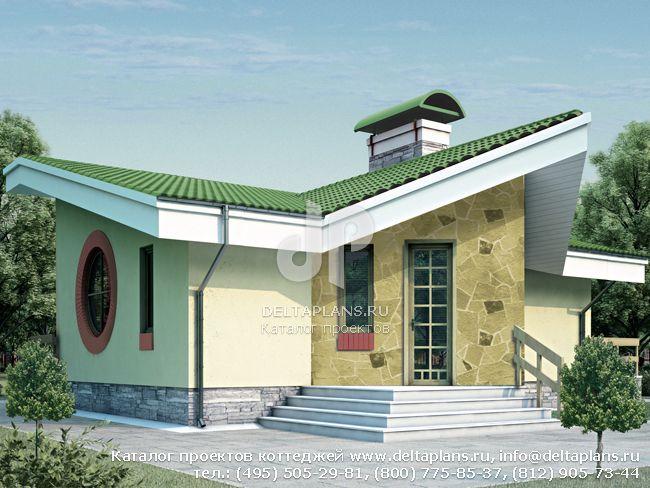 Проект кирпичного дома № T-061-1K