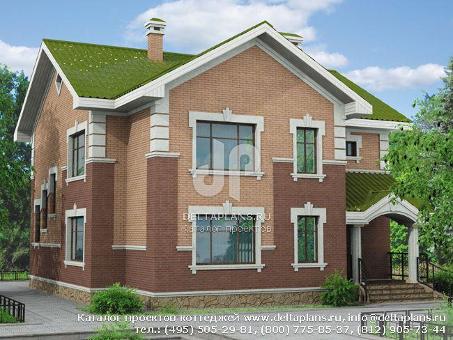 Пенобетонный дом. Проект № T-203-1P