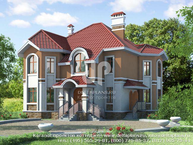 Кирпичный дом. Проект № T-207-1K