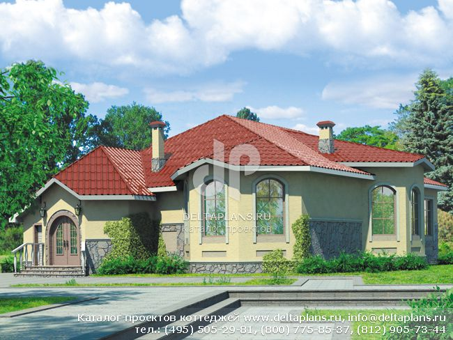Проект дома 19 на 17 № T-210-1K