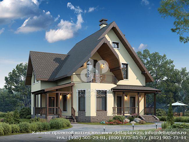 Кирпичный дом. Проект № U-153-1K