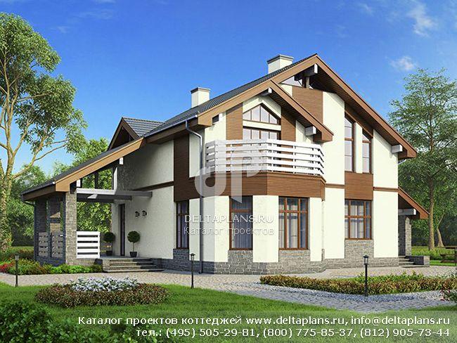 Пенобетонный дом. Проект № U-173-1P