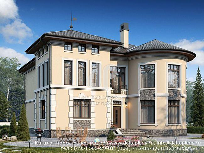 Кирпичный дом. Проект № U-284-1K