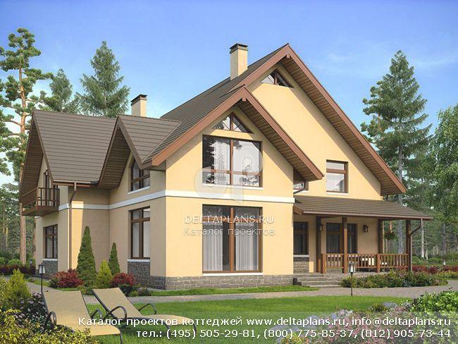 Кирпичный дом. Проект № U-294-1K