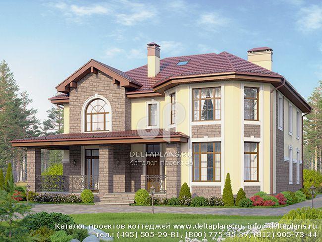 Пенобетонный дом. Проект № U-294-1P