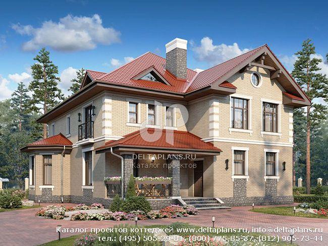Пенобетонный дом. Проект № U-372-1P