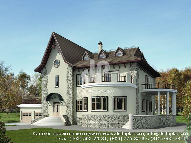 Пенобетонный дом. Проект № U-650-1P