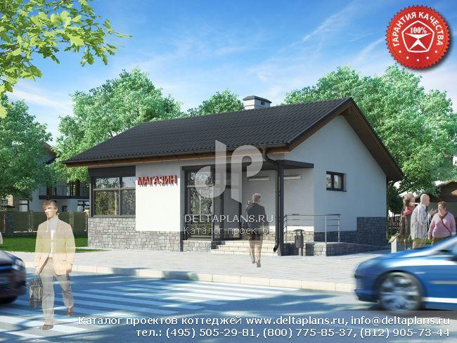 Проект магазина № W-067-1P