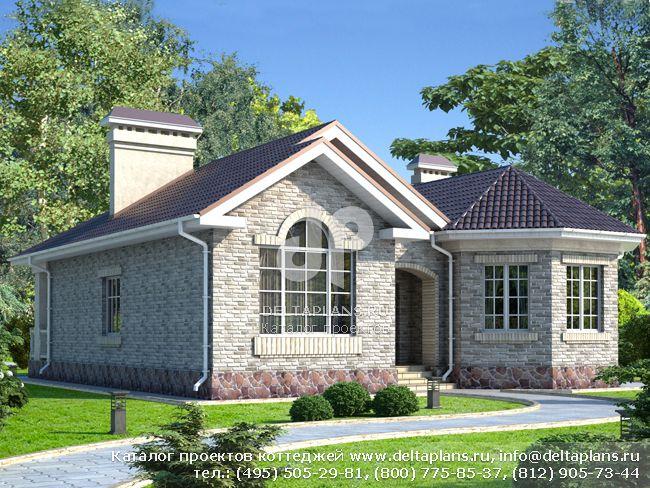 Каталог готовых типовых проектов домов и коттеджей