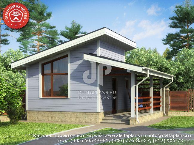 Каркасный дом. Проект № Y-030-1S